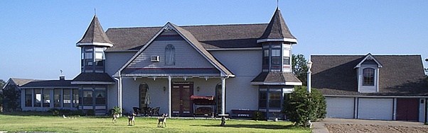 Wolfe City, Texas bed and breakfast inn.